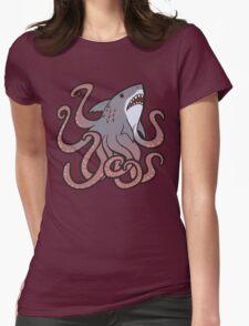Cute Sharktopus Womens Fitted T-Shirt