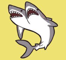 2-Headed Shark Baby Tee