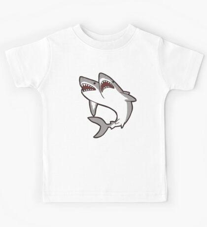 2-Headed Shark Kids Tee