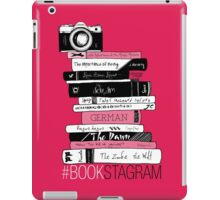 #BOOKSTAGRAM (Rose Red!) iPad Case/Skin