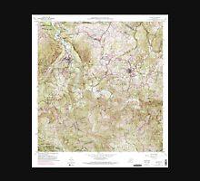 USGS TOPO Map Puerto Rico PR Ciales 362090 1957 20000 Unisex T-Shirt