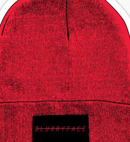 twentyone pilots - red hat Sticker