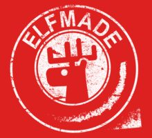 Elfmade (Red/Green & White) Kids Tee
