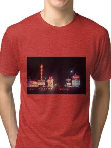 Las Vegas 1980 Tri-blend T-Shirt
