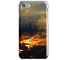 Sunset - lovely rays (2016) iPhone Case/Skin