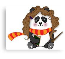Potter Panda Pals - Hermione Canvas Print