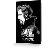 Sorcerer Supreme Greeting Card