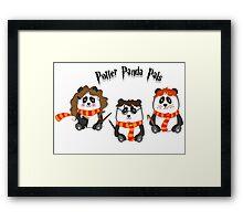 Potter Panda Pals Framed Print
