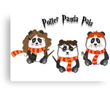 Potter Panda Pals Canvas Print