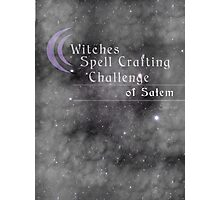 Witches Spell Crafting Challenge of Salem  Photographic Print