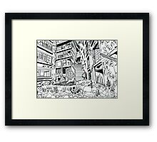 Complex Decay Framed Print