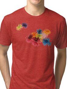 Spongey Color Fun  Tri-blend T-Shirt