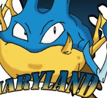 Maryland Blue Krabbys Sticker