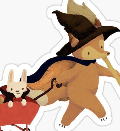 Spooky Adventure Sticker