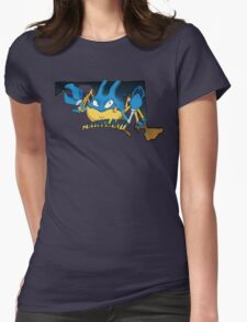Maryland Blue Krabbys Womens Fitted T-Shirt