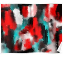 Back To Back - Abstract Painting Poster
