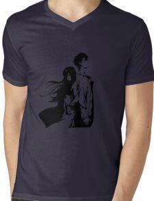 Steins; Gate Mens V-Neck T-Shirt