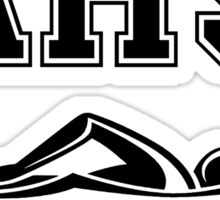 AHS SWIM TEAM Sticker