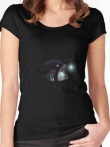 Deep sea angler - Diceratias nassa Women's Fitted Scoop T-Shirt