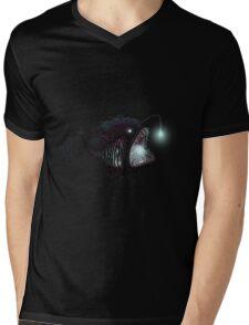 Deep sea angler - Diceratias nassa Mens V-Neck T-Shirt