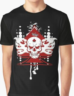 Ace Of Spades Skull Graphic T-Shirt