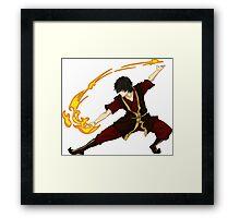 Avatar the Last Airbender - Zuko Framed Print