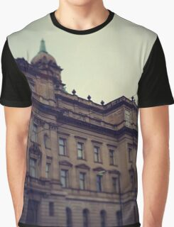 Old Building Graphic T-Shirt