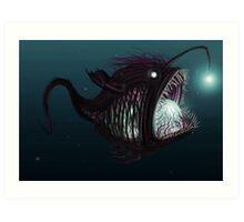 Deep sea angler - Diceratias nassa Art Print