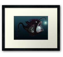 Deep sea angler - Diceratias nassa Framed Print