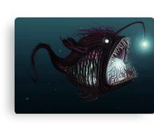 Deep sea angler - Diceratias nassa Canvas Print