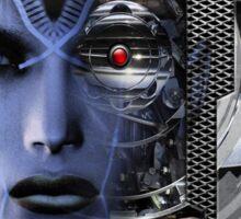 robotic future b Sticker