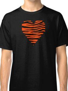 0474 Orange Red Tiger Classic T-Shirt