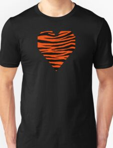 0474 Orange Red Tiger T-Shirt