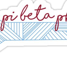 Pi Beta Phi Arrow  Sticker