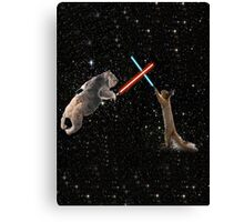 Star Wars the Koala strikes back Canvas Print