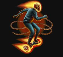Ghost Rider On A Hoverboard T-Shirt