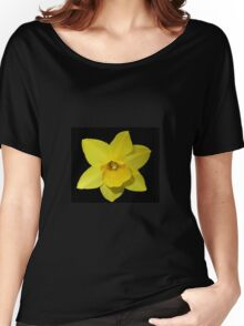 Golden Daffodil Women's Relaxed Fit T-Shirt
