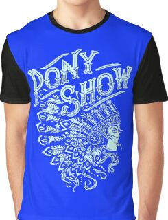 Pony show Funny Men's Hoodie Graphic T-Shirt