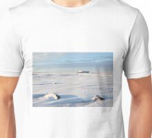 Early Morning Glow on the Canadian Tundra Unisex T-Shirt