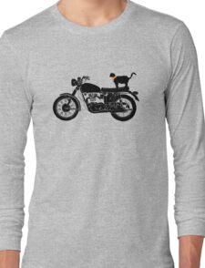 Purrfect Roadtrip Funny Woman Tshirt Long Sleeve T-Shirt