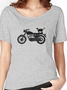 Purrfect Roadtrip Funny Woman Tshirt Women's Relaxed Fit T-Shirt