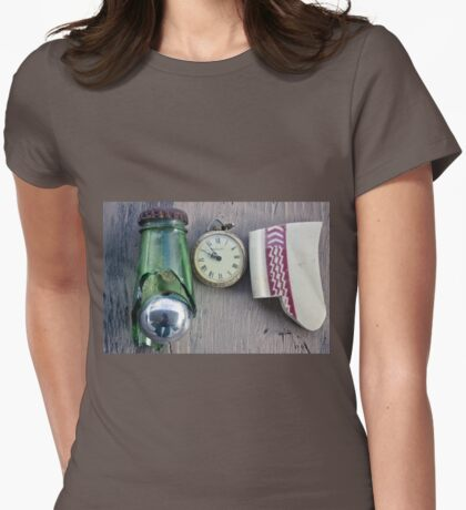 Still Life Number 1 Womens Fitted T-Shirt