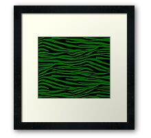 0481 Pakistan Green Tiger Framed Print