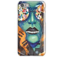 The Girl With Kaleidoscope Eyes iPhone Case/Skin