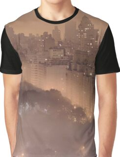 New York Sepia Filter  Graphic T-Shirt
