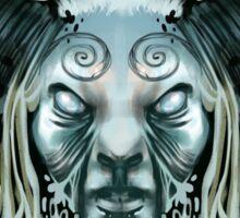 Pan's Labyrinth Faun BG Sticker