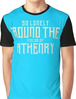 So lonely round the fielos of athenry Funny Men's Tshirt Graphic T-Shirt