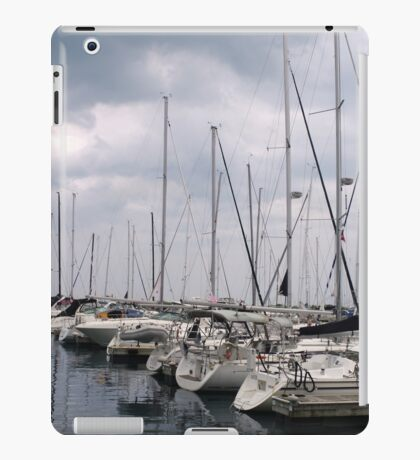 Boats in a Row iPad Case/Skin