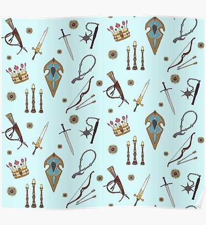 Swords & Shields & Maces, Oh My! Poster