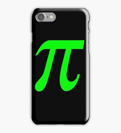 Pi - Green Lima iPhone Case/Skin